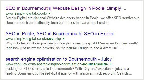 SEO  in Exeter